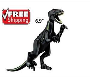 Black Indoraptor Jurassic World Park Big Dinosaur figure Building Toy BLOCKS