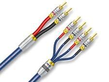 2 x 1,0m Sommer Cable Cavo Altoparlante Excelsior SC-QUADRA Blue Bi-Wire NUOVO