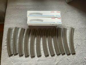 Märklin 24230 C-Gleis 12 x Gleise gebogen R2  NEU + OVP