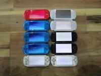 Sony PSP 3000 Console Lot of 10 piece Silver Blue Black Japan B578