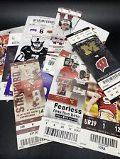 Assorted Lot of 60 Football Tickets & Stubs NFL NCAA College Not as pictured