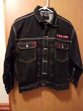 RARE U.S. Polo Association Jeans Co. - jean Denim - Jacket - Black - size small