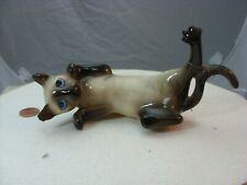 Hagen Renaker Dw hanging Siamese Cat-damaged