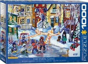 Eurographics 1000 Piece Jigsaw Puzzle - The Usual Gang  EG60005332
