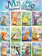 Magic Animal Friends 1-12 Lucy,Molly,Ellie,Bella + (pb) by Daisy Meadows NEW