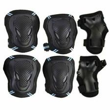Adult Roller Skateboard Skating Knee Elbow Wrist Pad Gear Pack Protective Guard