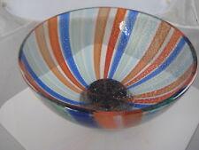 Glass Studio Murano Multicolor Multicolor Large  Bowl