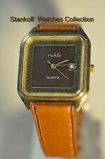 """Ruhla""  ~8J UMF 14-33 Quartz Vintage Circa 1980's GP German  Men's Wristwatch"