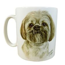 Waggy Dogz Lhasa Apso Dog Puppy Made In Uk Present Gift China Mug Cup Pot