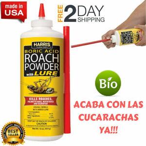 #1 Insecticida Para Cucarachas Veneno De Cucaracha Mata Eliminar Las Acabar Con.