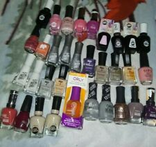 Lot Of 33 OPI Sally Hansen Defy and Inspire Orly Nail Polish - Multi Colors