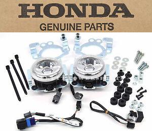 New Genuine Honda LED Foglight Kit 08-17 GL1800 Goldwing Airbags (Notes!) #V197