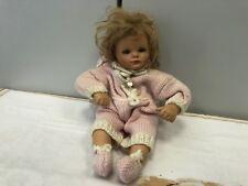 Gabriele Müller Porzellan Puppe 23 cm. Guter Zustand