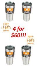 4 NEW Ozark Trail Tumbler 30 Oz Stainless Steel Insulated Vacuum Cup / Mug 30oz