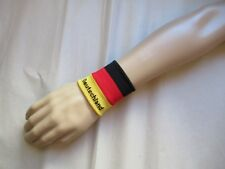 Bande poignet Allemagne élastique éponge wristband sweat band sport & mode