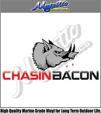 CHASIN BACON - 450mm x 200mm - DECAL
