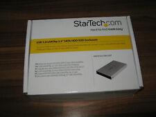 "S251SMU33EP Startech Enclosure, Usb3.0/Esata-2.5""Hdd/Ssd"