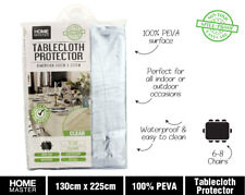 Table Cloth Protector Clear Plastic Pvc Covering Outdoors Camping Picnic