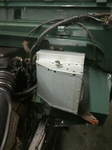 New galvanised Land Rover Defender Heater box .. (reproduction)