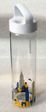 STARBUCKS NEW YORK CITY You Are Here NWT glass water bottle tumbler YAH