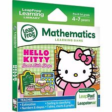 LeapFrog Explorer Game Hello Kitty Sweet Little Shops (LeapPad 3, Platinum)