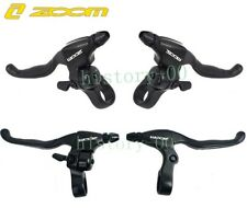 ZOOM Aluminum MTB bike Disc Brakes Levers Bell Bicycle Brake Handle Brake Lever