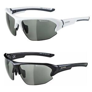 Alpina Fahrradbrille Sportbrille Varioflex Damen Herren Halbrahmen selbsttönend