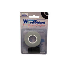 Oxford OF619 7MM Reflective MOTORCYCLE Wheel Rim Pin Stripe Tape Sticker WHITE  