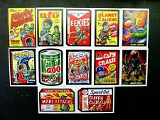 TOPPS MARS ATTACKS OCCUPATION COMPLETE ATTACKY PACKS SET OF 10 + GPK + P1 GREEN