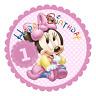 Minnie Maus 1 Eßbar Tortenaufleger NEU Party Deko Geburtstag dvd Tortenbild Baby