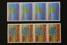 Timbre PAYS-BAS - Stamp NETHERLANDS - YT n°1052 et 1053 x 4 n** (Cyn15)