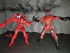 Carnage Marvel Legends 2 Figure Lot Spider-man Wave