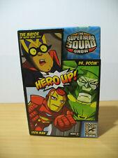 SDCC 2010 Marvel Super Hero Squad Hero Up! 3 Pack Iron Man The Mayor Dr. Doom