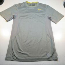 NIKE PRO COMBAT DRI FIT FITTED MESH BACK LIVESTRONG ATHLETIC JERSEY T SHIRT XS