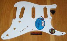 Fender Stratocaster Pickguard Jimmie Vaughan White Tex Mex Guitar Parts Strat