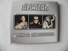 ALCAZAR CRYING AT THE DISCOTEQUE CD SINGLE 3 MIX`S
