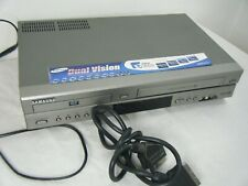SAMSUNG SV-DVD30 DVD PLAYER+VCR VIDEO RECORDER COMBO TESTED WORKING NO REMOTE