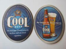 Coaster ~*~ COOL Natural Beer Brewing Company ~ Toronto, Ontario, CANADA Brewery