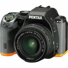 Pentax K-S2 DSLR Camera with 18-50mm Lens - Black/Orange