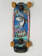 "28"" Vintage 1986 Valterra Land Shark Skateboard"