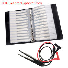 0805 0603 04021206 Smd Resistor Amp Capacitor Combo Sample Book Assortment Kit