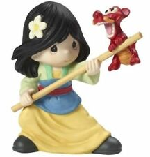 PRECIOUS MOMENTS Disney MULAN with MUSHU Together We Can Do Anything NEW