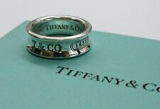 Fine Tiffany & Co 1837 Ring Sterling Silver Jewelry