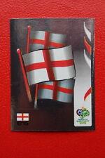 PANINI FIFA WORLD CUP GERMANY 2006 06 N. 94 ENGLAND BADGE MINT!!!