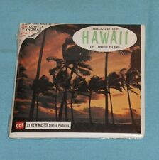 vintage ISLAND OF HAWAII The Orchid Island VIEW-MASTER REELS new/sealed