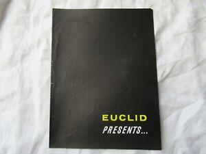 Euclid C-6 crawler tractor brochure