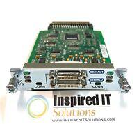 HWIC-2A/S - Cisco 2-Port Async/Sync Serial WAN Interface Card *Same Day Shipping
