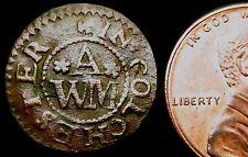 S686: 1670's 17th secolo codice temporaneo: Colchester, William alldred, unicorno. Essex 90