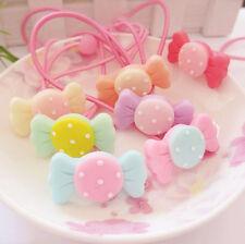 horquilla 10X niños niña caramelo elástico cabeza pelo círculo de la cuerda K&Y