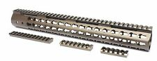"Tactical 15"" Super Slim Keymod Handguard for Ruger Precision Rifle - Bronze"